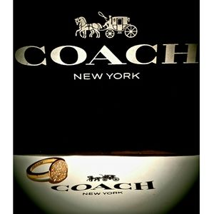 Coach Pave Rose Gold with crystal cluster halo 6